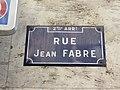 Lyon 2e - Rue Jean Fabre - Plaque (mars 2019).jpg