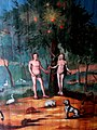 Møgeltønder Kirke - Deckenmalerei 2 Adam und Eva.jpg
