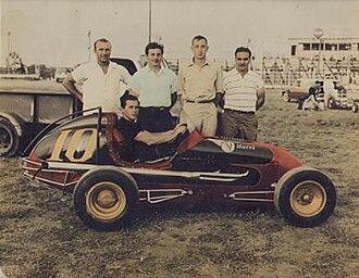 Islip Speedway - Image: M10Johnny Coy Islip