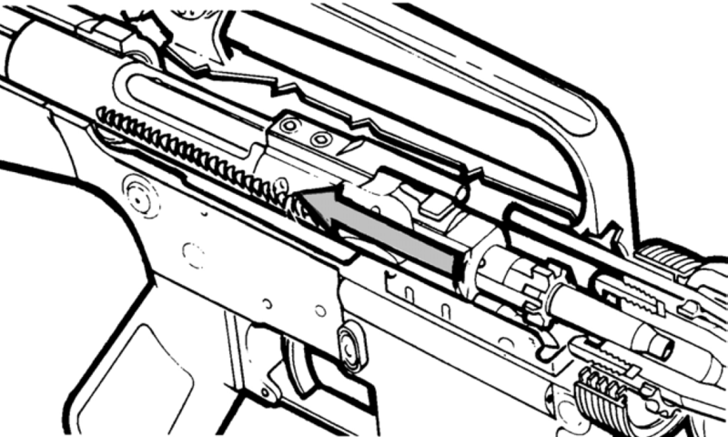 M16a4 Assault Rifles Weapon