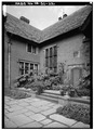 MAIN ENTRANCE, WEST SIDE, FROM SOUTHWEST - Stan Hywet Hall, 714 North Portage Path, Akron, Summit County, OH HABS OHIO,77-AKRO,5-22.tif