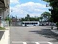 MBTA route 713 bus at Orient Heights Loop, July 2015.JPG