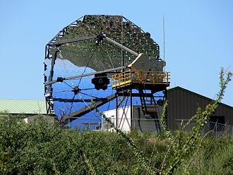 Fred Lawrence Whipple Observatory - Mirrors on one of the VERITAS detectors
