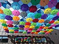 MOM Sports Complex, umbrellas. - 2016 Budapest.jpg