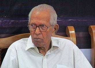 M. K. Sanu - M K Sanu - a prominent Malayalam literary figure