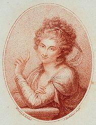 Maddalena Allegranti,Porträt von Francesco Bartolozzi nach Richard Cosway (Quelle: Wikimedia)