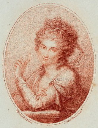 Maddalena Allegranti - Maddalena Allegranti. Portrait by Francesco Bartolozzi after Richard Cosway.