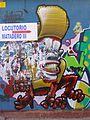 Madrid - Puente de Vallecas - Graffiti 1.JPG