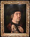 Maestro della leggenda di sant'agostino, uomo con teschio, xv sec.JPG