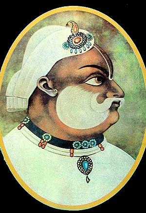 Bharatpur State - Maharaja Suraj Mal of Bharatpore (1756–1767).