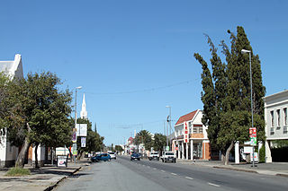 Beaufort West Place in Western Cape, South Africa