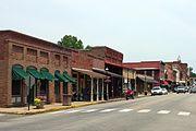 Main Street in Van Buren, AR