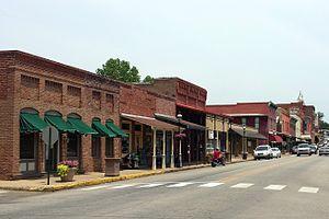 Van Buren, Arkansas - Main Street, 2013