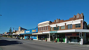 Mayfield, New South Wales - Image: Maitland Rd 2