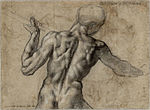 Male Back With a Flag - Michelangelo.jpg
