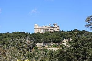 Verdala Palace - Image: Malta Siggiewi Triq il Buskett Buskett Gardens + Verdala Palace 05 ies