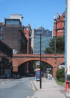 Sackville Street (Manchester) street in Manchester, England