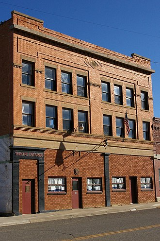Montezuma County, Colorado - Mancos Colorado Opera House 2009
