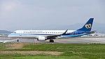 Mandarin Airlines Embraer ERJ 190 B-16825 Departing from Taipei Songshan Airport 20150101c.jpg