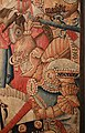 Manifattura fiamminga (prob. tournai), arazzo con la battaglia di roncisvalle, 1475-1500 ca. (v&a) 04.jpg