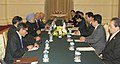 Manmohan Singh at the bilateral meeting with the Prime Minister of Japan, Mr. Yoshihiko Noda on the sidelines of 10th ASEAN-India Summit and 7th East Asia Summit, in Phnom Penh, Cambodia on November 20, 2012 (1).jpg