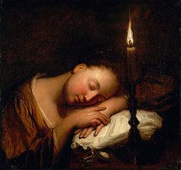 Jeune Fille endormie
