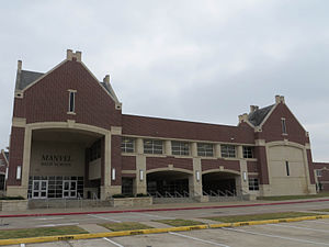 Manvel, Texas - Manvel High School