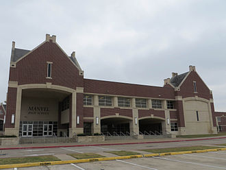 Manvel High School - Image: Manvel High School 2013