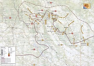 joint military offensive of the Croatian Army and the Croatian Defence Council that took place north-west of the Livanjsko field and around Bosansko Grahovo and Glamoč in western Bosnia and Herzegovina