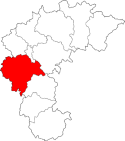 Location of Cheongju