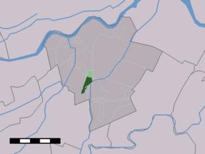 Meerkerk - Image: Map NL Zederik Meerkerk
