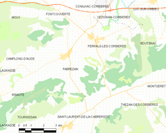 Map commune FR insee code 11132.png