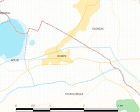 Map commune FR insee code 11172.png