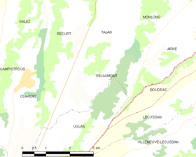 Map commune FR insee code 65377.png