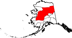 Map of Alaska highlighting Yukon-Koyukuk Census Area.svg