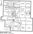 Map of Muskingum County Ohio With Municipal and Township Labels.PNG