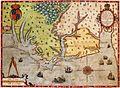 Map of Virginia, Theodorus de Bry, 1591.jpg