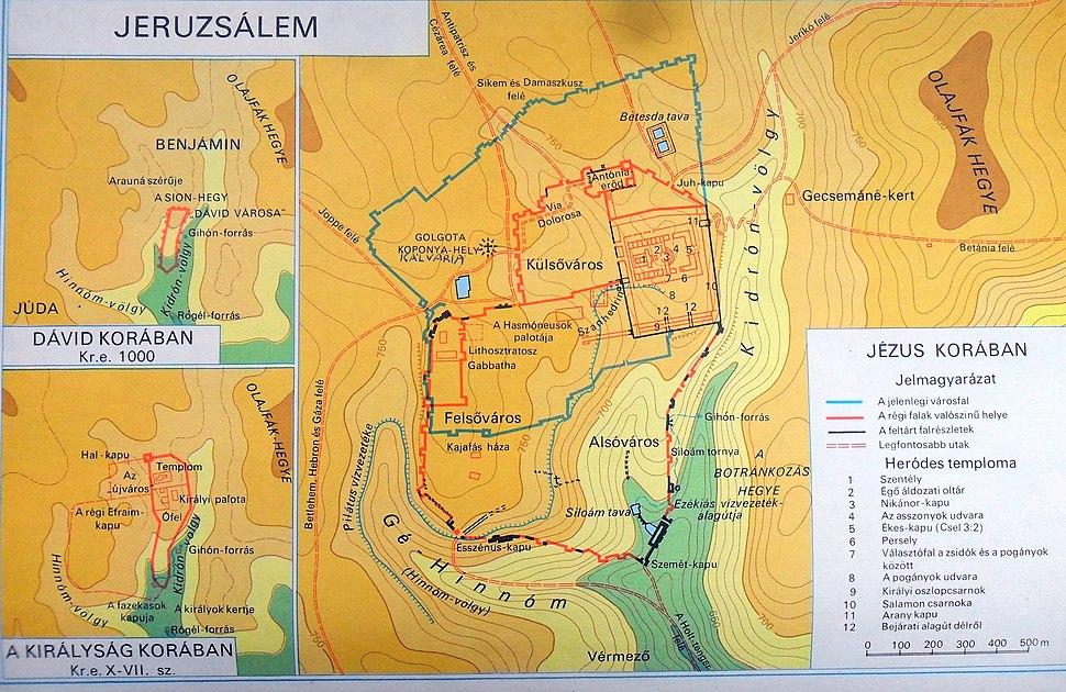 Map of Yerushalem