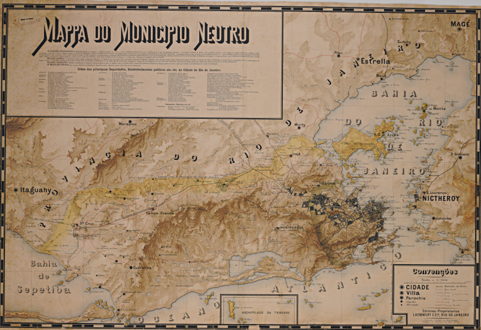 Mapa do Município Neutro