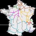 Mapafrancia autoroutes concesionarias.png