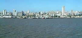 Vista panorâmica da cidade de Maputo.