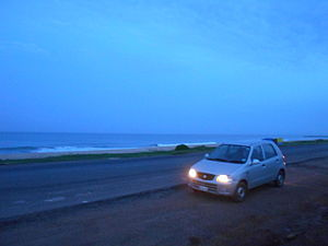 Maravanthe - Maravanthe is a favorite stopover for vehicles on NH 66