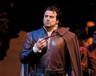 Marcello Giordani Italian operatic tenor