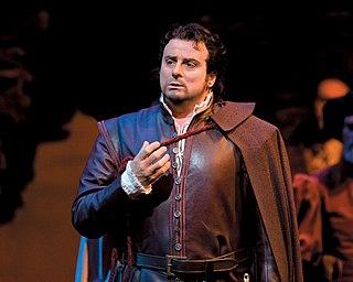 Marcello Giordani Italian operatic tenor