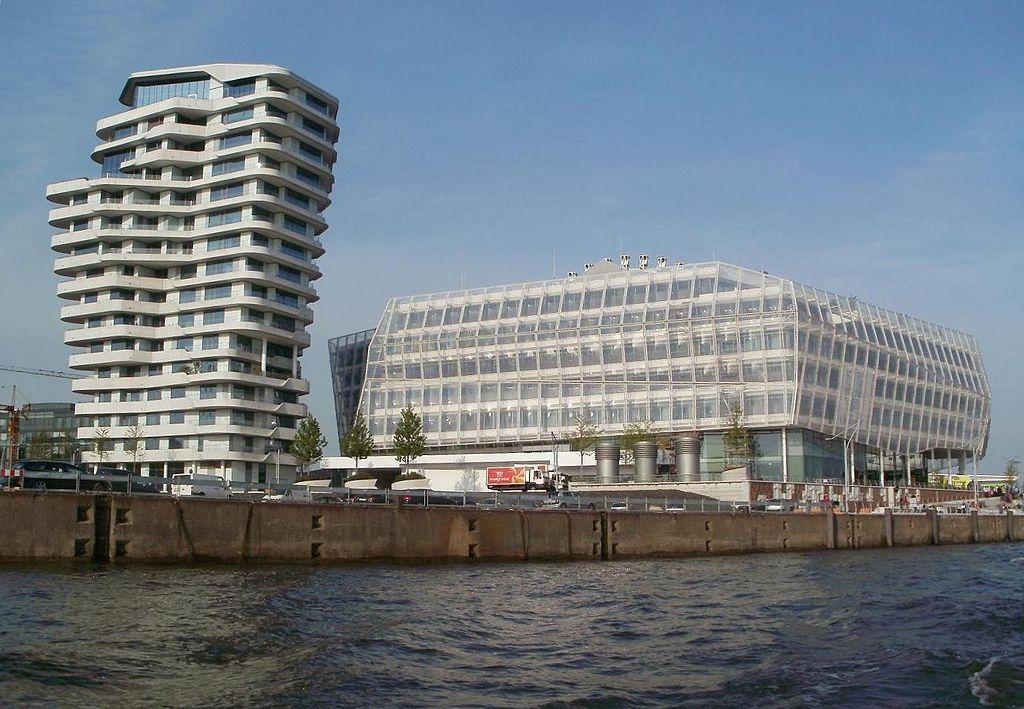Marco-Polo-Tower & Unilever-Haus Hamburg-HafenCity