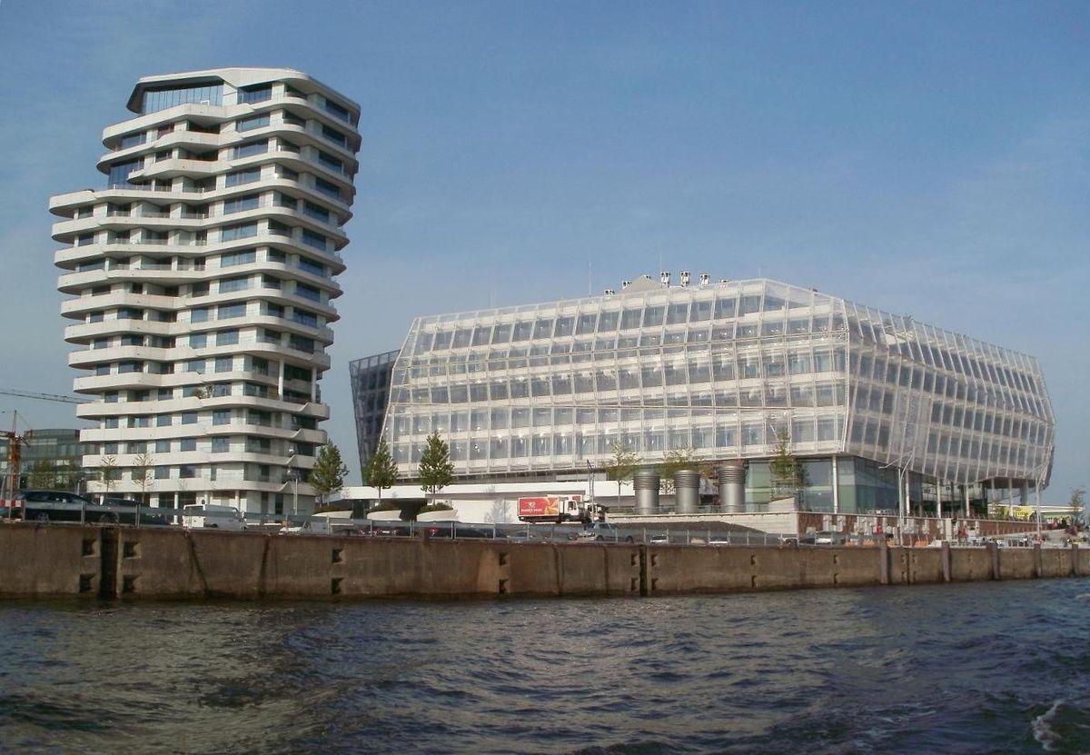 Unilever Haus Hamburg Langnese Cafe