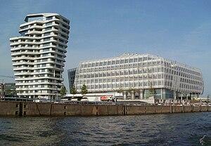 Behnisch Architekten - Marco-Polo-Tower and Unilver-Building in Hamburg-Hafencity, Germany
