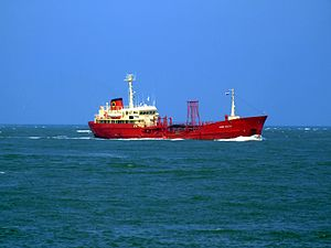 Maria Soltin p1 approaching Port of Rotterdam, Holland 03-Jun-2007.jpg