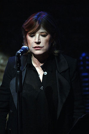 Marianne Faithfull - Faithfull performing in 2008