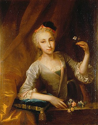 Francesco Carlo Rusca - Marie Ana Ludowiga von Roll von Emmenholz (1760s)